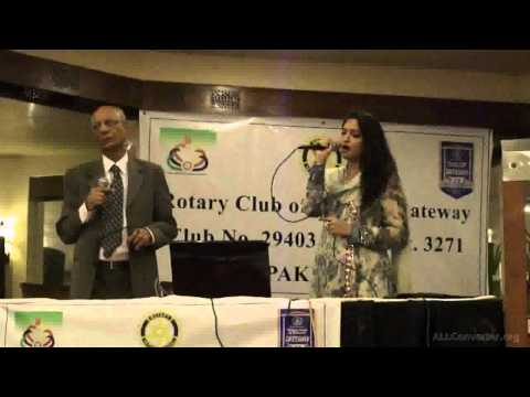 TUMHARI NAZAR KYON KHAFA HO GAYI- LIVE BY RAZI AND SUALIHA AZAM...