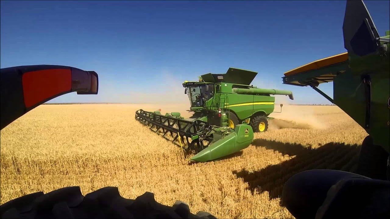 Australian Wheat Harvest 2013 Youtube