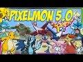 PIXELMON 5.0 UPDATE REVIEW - NEW LEGENDARY POKEMON! MEGA EVOLUTION!? GEN 6 STARTERS! 50+ NEW POKEMON thumbnail