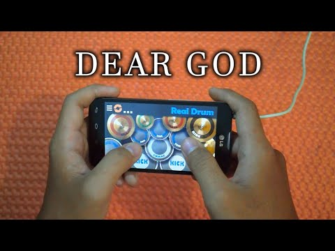 Avenged Sevenfold - Dear God ( Real Drum Cover by Ahsani )