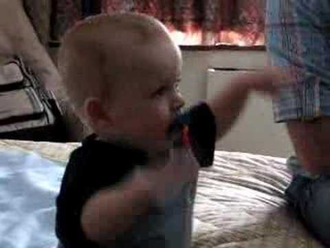 weird pacifier sound effect