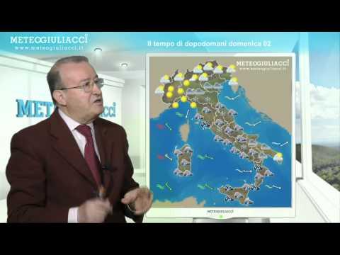 Meteo di dopodomani, Domenica 2 Dicembre 2012.