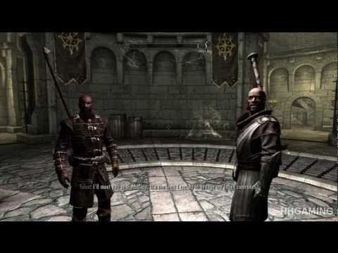 Skyrim Dawnguard - walkthrough part 1 HD gameplay dlc add on FULL vampire lord & Dawnguard paths