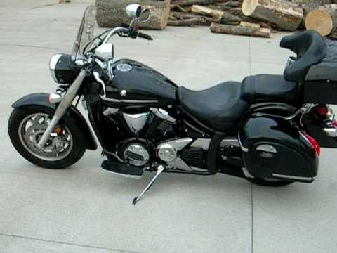 yamaha xvs 1300a midnight star videos. Black Bedroom Furniture Sets. Home Design Ideas