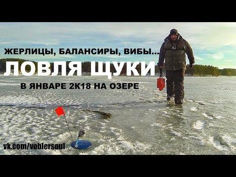 Жерлицы, балансиры, вибы... Ловля щуки в январе. Зимняя рыбалка 2018.