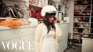 Mindy Kaling Visits the Vogue Closet for a Fitting - Vogue Original Shorts