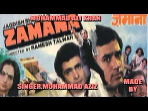 Kisko Kahain Hum Apna (singer Mohammad Aziz & Kishore Kumar) video