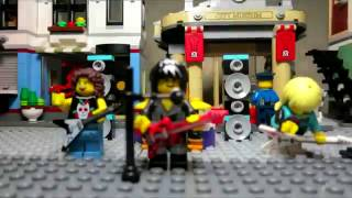 Vantage Point - Wanted - Lego Brick Film - Museum Heist/Robbery