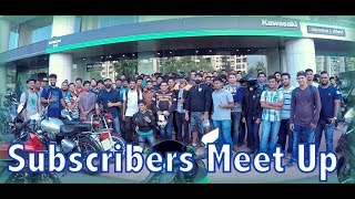 Subscribers Meet up @ Anzen Kawasaki, Mumbai | Ride With Raj | Oggy F | Vikas Rachamalla