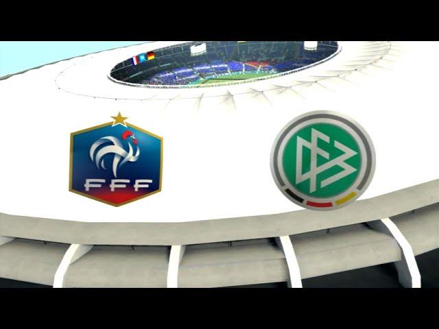 France - Allemagne [FIFA 14 World Cup] | Coupe du Monde 2014 (1/4art de Finale) | CPU Vs. CPU