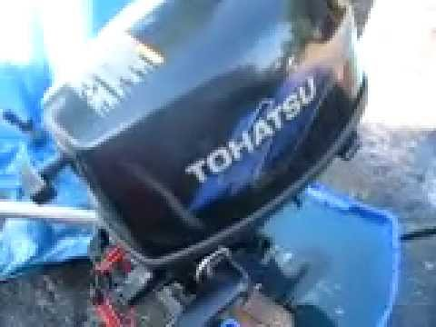 Tohatsu 4hp outboard 4 stroke
