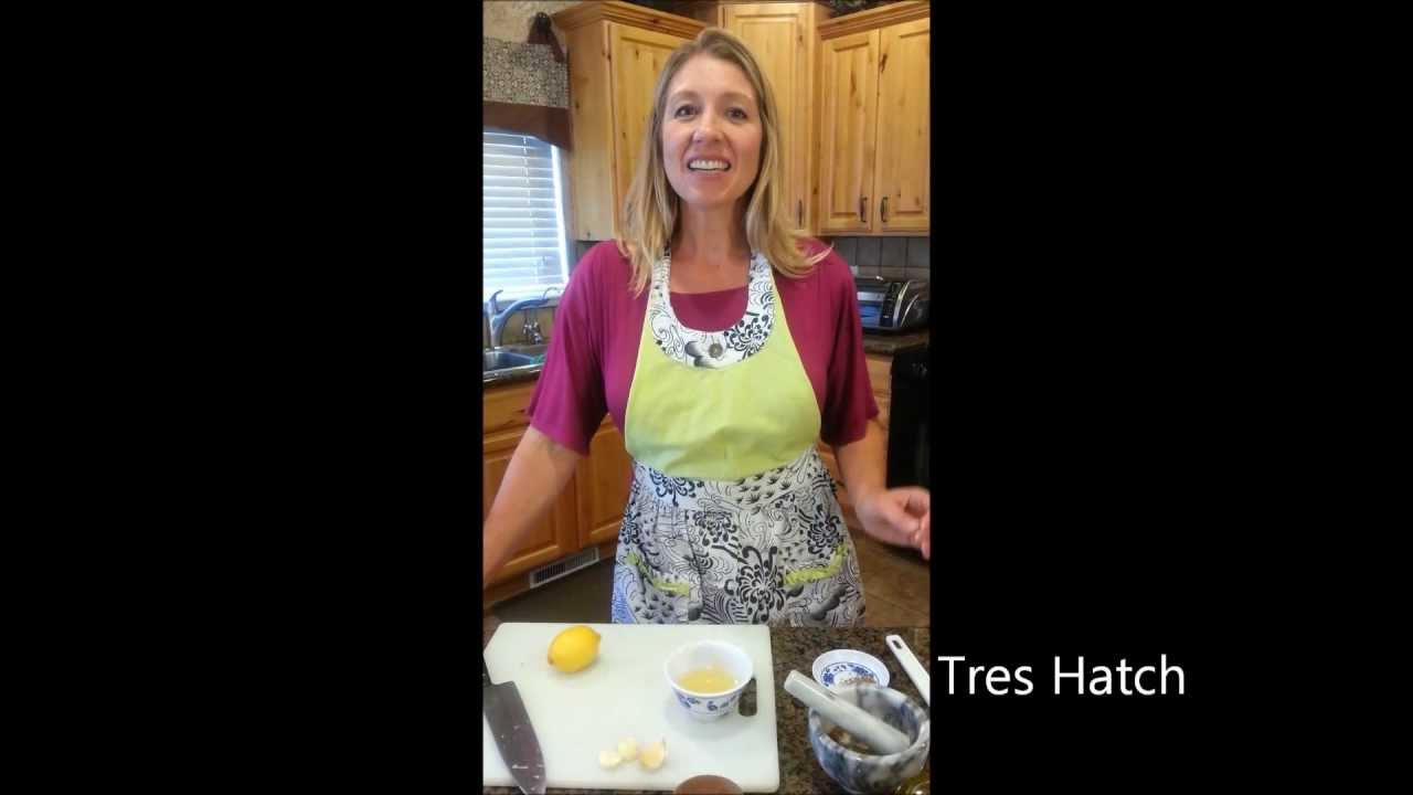 5 Minute Lemon Hummus--Daily Fuel Recipes with Tres Hatch
