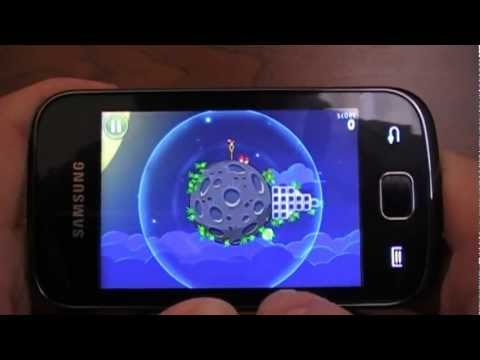 Birds Space on Samsung GT-S5660 Galaxy Gio with OS Cyanogen Mod 9