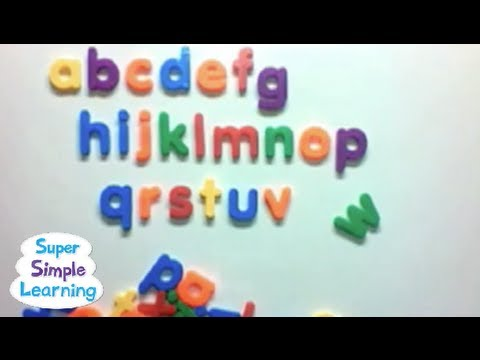 ABC Song from Super Simple Songs