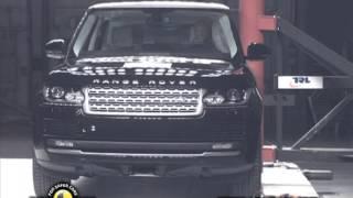 Range Rover kaza testi - Euro NCAP 2012