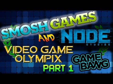 SMOSH GAMES NODE VIDEO GAME OLYMPIX - Part 1