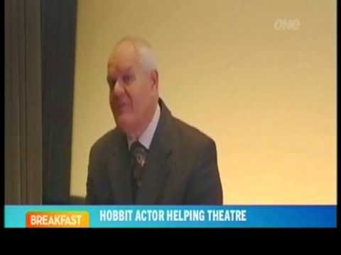 Mark Hadlow (Dori) Asks for donations for Christchurch Issac Theatre Royal