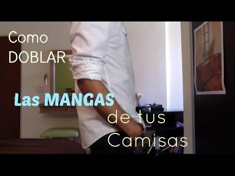 COMO DOBLAR LAS MANGAS DE TUS CAMISAS - J.M. Montaño