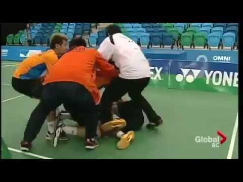 Badminton Fight