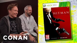 Conan O'Brien Reviews Hitman: Absolution - Clueless Gamer - CONAN on TBS