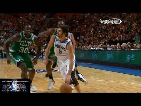 Ricky Rubio Offense Highlights 2013/2014