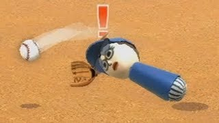 wii sports raging and funny moments - baseball championship