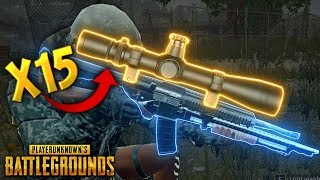 x15 SCOPE..!!! | Best PUBG Moments and Funny Highlights - Ep.94