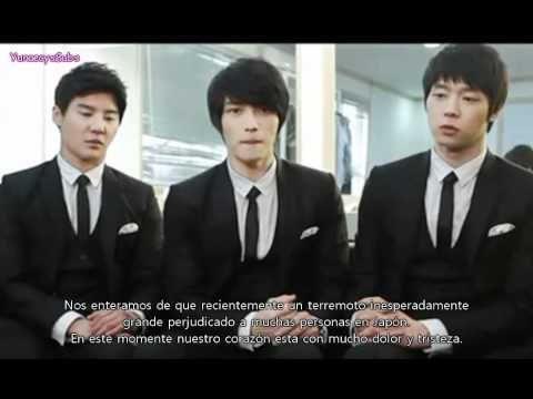 [Español] JYJ Massage for Japanese Fans 110314