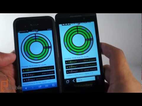 BlackBerry Z 10 Browser vs Galaxy Note II, iPhone, and ATIV Odyssey