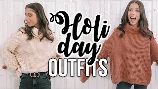 OUTFIT IDEAS FOR THE HOLIDAYS!!