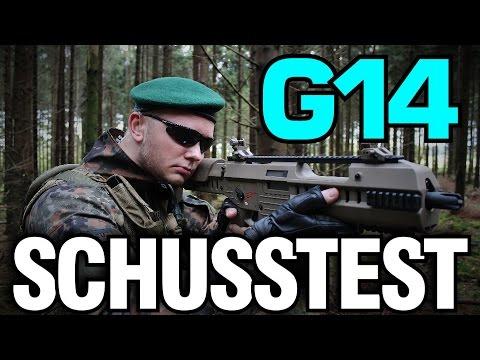 ARES G14 Softair Schusstest - GsP Airsoft - german/deutsch HD+