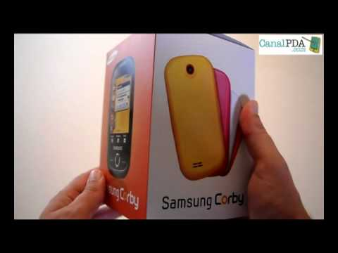 Revisión: Samsung Corby S3650 (i) video