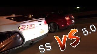 2019 CAMARO SS VS 2019 MUSTANG GT(THINGS GET CRAZY!!!)