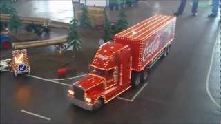 Coca Cola Christmas RC Truck (1:8) Euromodell Bremen 2012