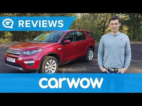 Land Rover Discovery Sport 2017 SUV review | Mat Watson Reviews