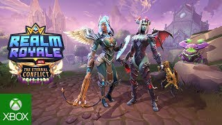 Realm Royale - The Eternal Conflict Battle Pass Available Now!