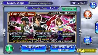 Another 52 Single Draw on Summer Banner | DFFOO