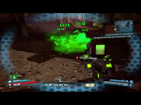 BORDERLANDS 2 (MAS ARMAS CURIOSAS + ESCOPETA MINECRAFT)