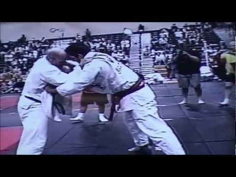 Rolles Gracie Jr. vs Jeff Monson BJJ match Grapplers Quest VA Image 1