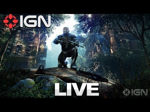 Crysis 3 E3 2012 Gameplay - IGN Live