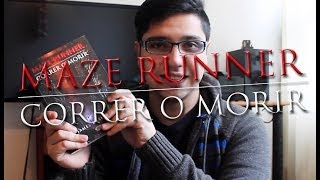 """Maze Runner, Correr o Morir"" James Dashner - Reseña"