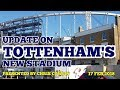 Download UPDATE ON TOTTENHAM'S NEW STADIUM: East Stand Panels, The Roof, White Hart Lane Station: 17 Feb 2018 in Mp3, Mp4 and 3GP