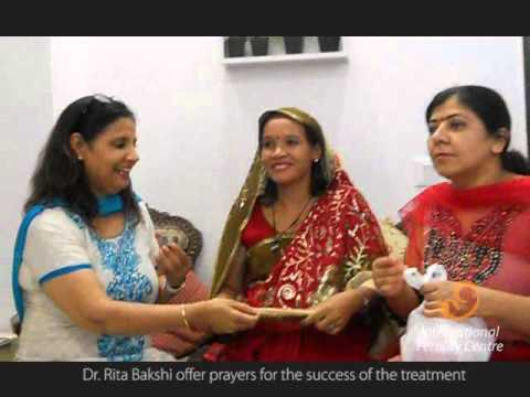 Ivf India - Baby Shower Surrogacy Mother - Pushpa At Ifc Delhi video