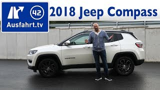 2018 Jeep Compass 2.0 MultiJet Limited - Kaufberatung, Test, Review