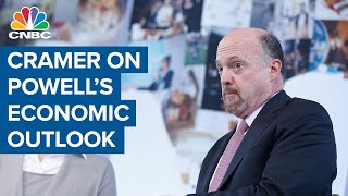 Jim Cramer weighs in on Powell's comments on the economy: 'It's like we're two countries'