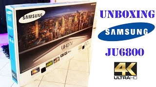 01. Unboxing Samsung JU6800 60'' 4K UHD Smart Tv01.