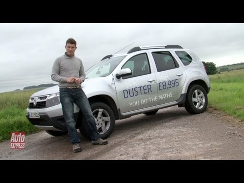 Dacia Duster review off-road - Auto Express