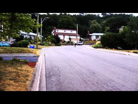 Longboarding Close Call