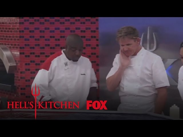 """Say It Don't Spray It, Sterling from """"8 Chefs Compete""""   HELL'S KITCHEN   FOX BROADCASTING"""