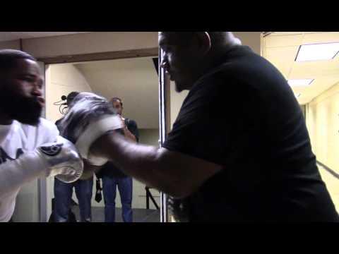 ADRIEN BRONER impressive mitt work EsNews Boxing